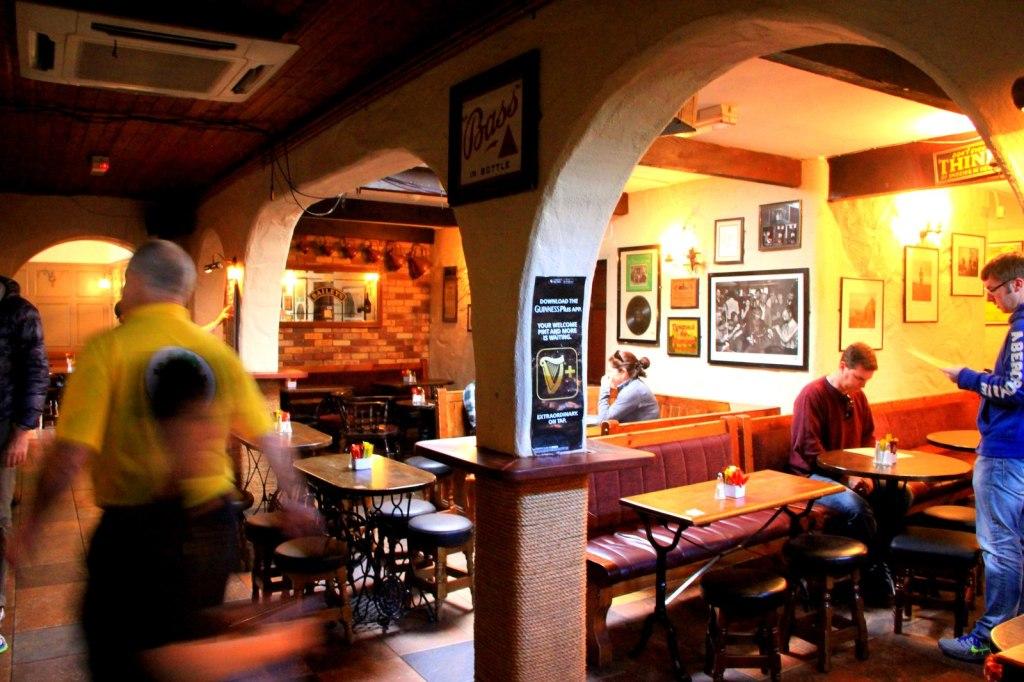 Interior of O'Connors Pub In Doolin