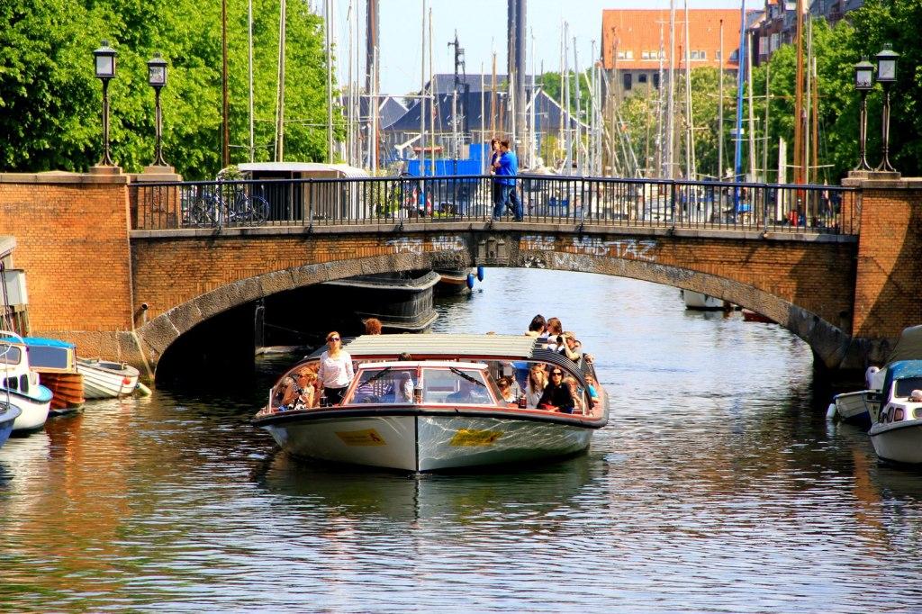 A ladies booze cruise in Copenhagen