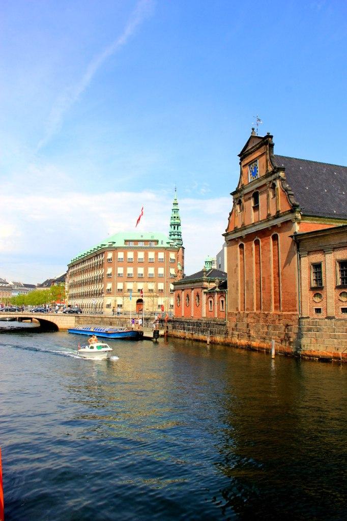 Beautiful canal in Copenhagen