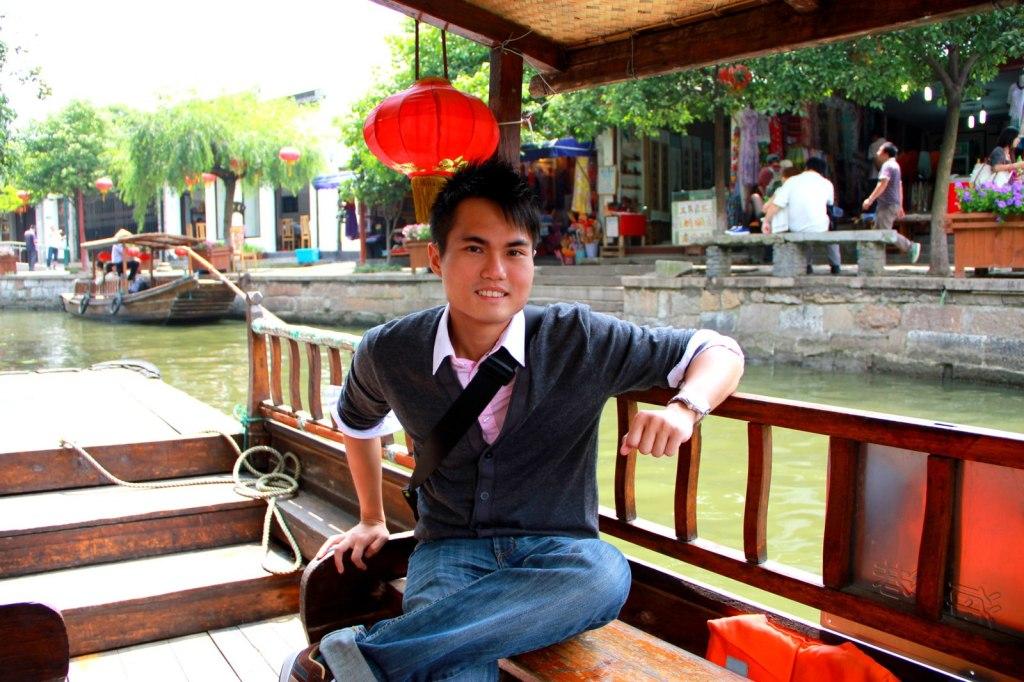 Chinese Decoration on the Gondola
