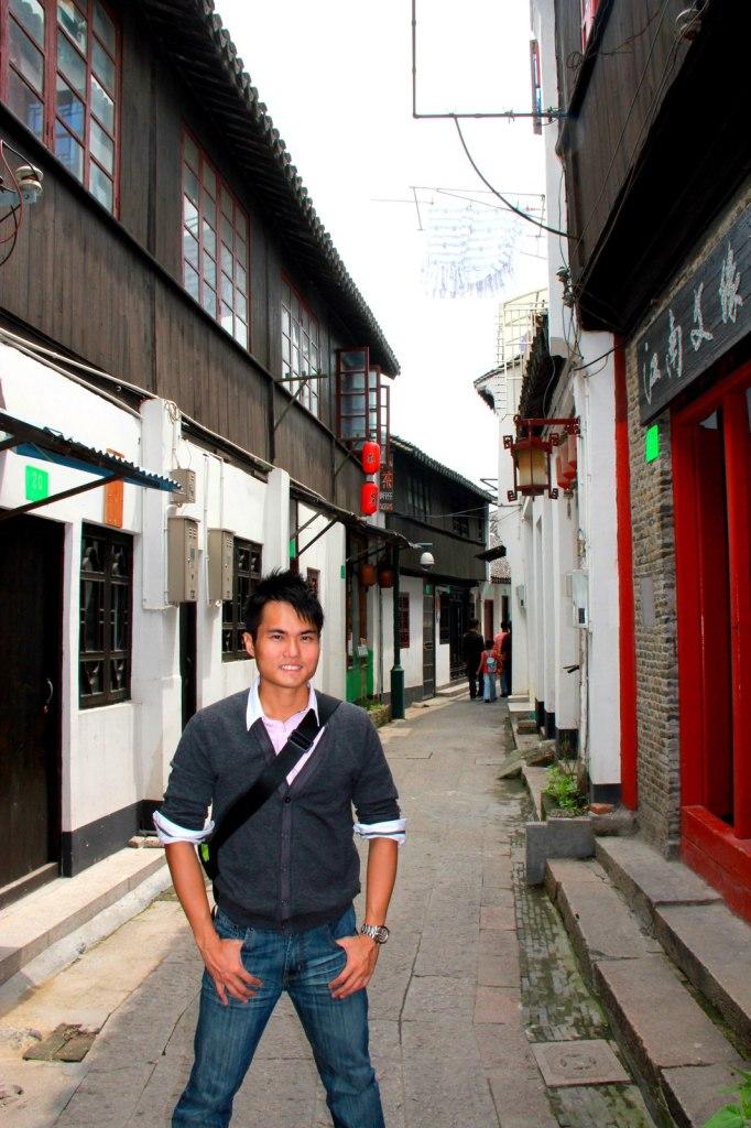 Quiet residential alleys