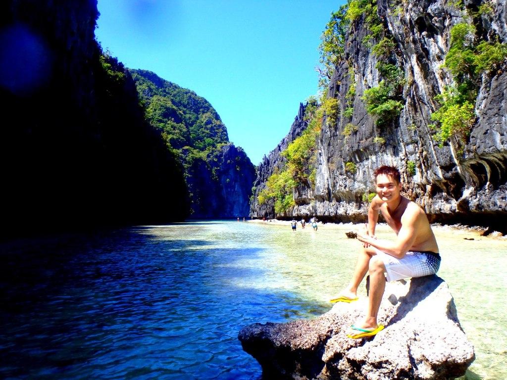Spectacular view of Palawan!