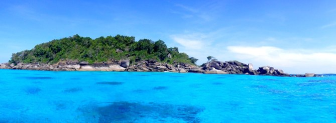 Similan Islands Diving Site