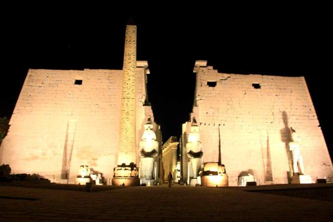 No one visits Luxor Temple, Egypt! :-(