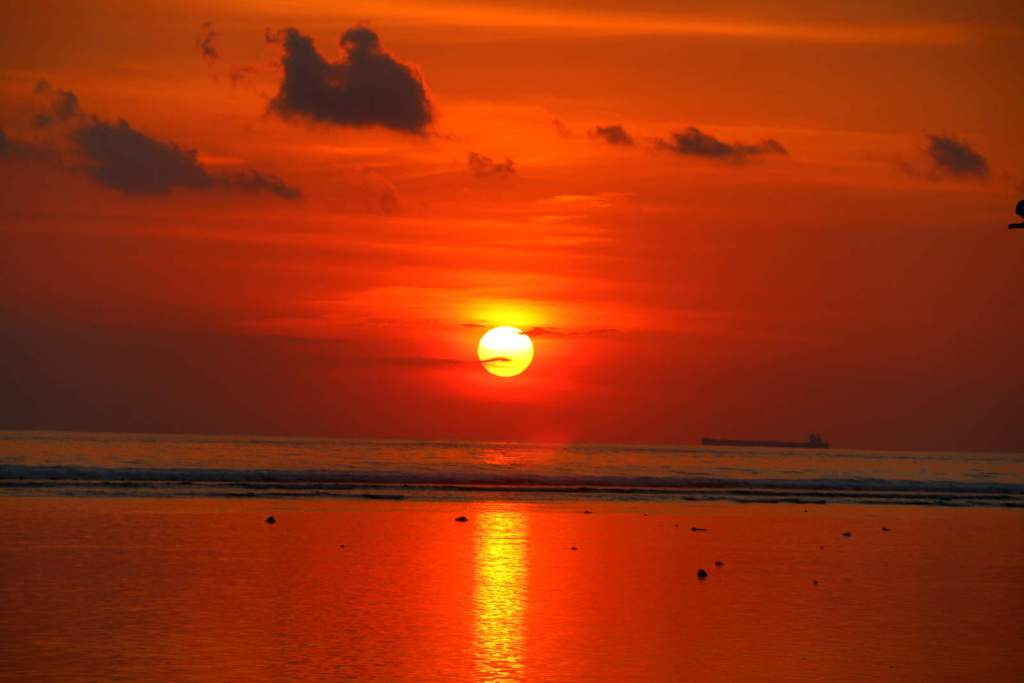 Sunset Gili Trawangan things to do in Gili Islands
