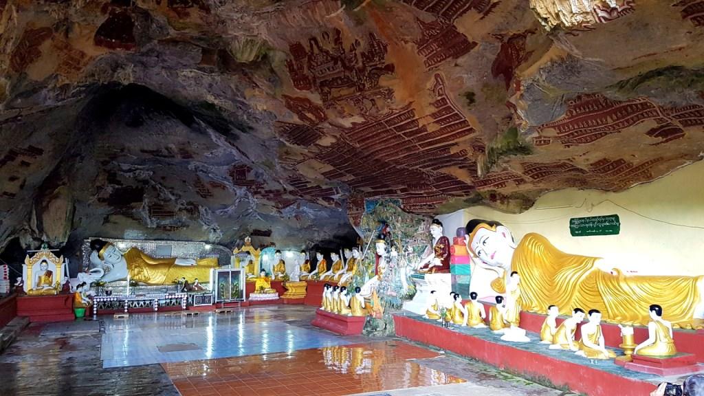 Inside Kawgun Cave