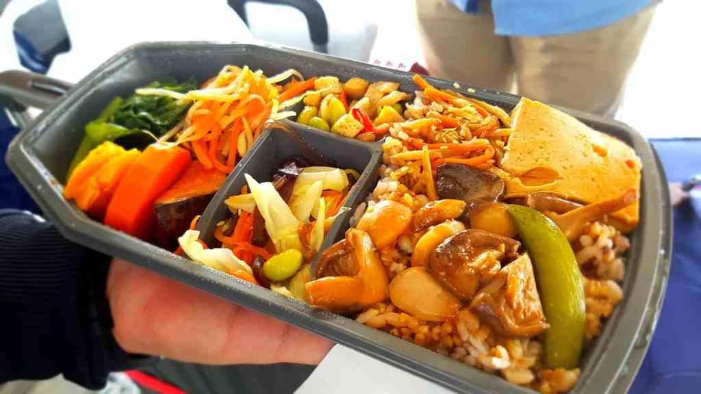 Taiwan HSR Vegetarian Bento