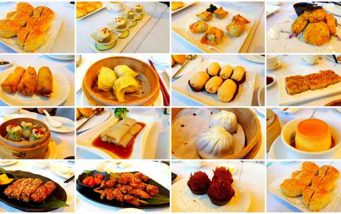 Vegeterian food in Taiwan Dim Sum