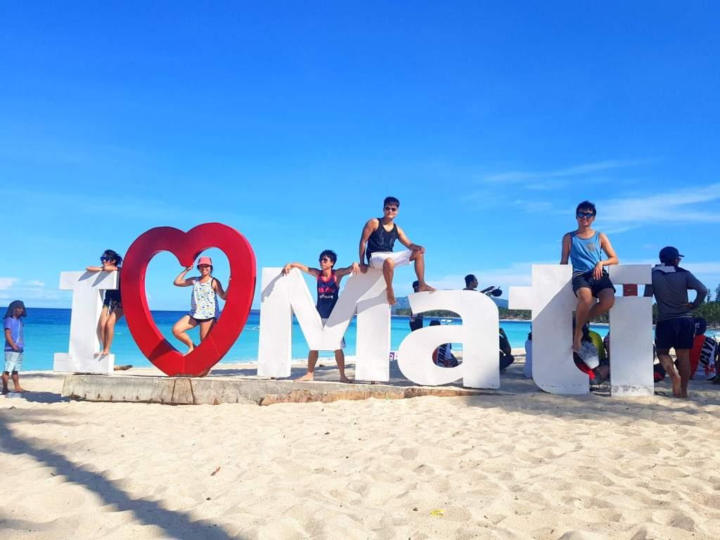 Mati City Dahican Beach
