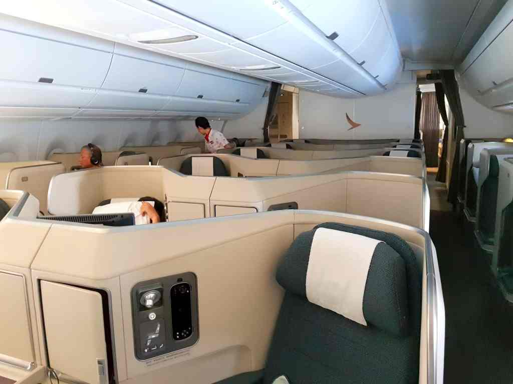 Cathay Pacific Business Class 1-2-1 For Long Haul Flights