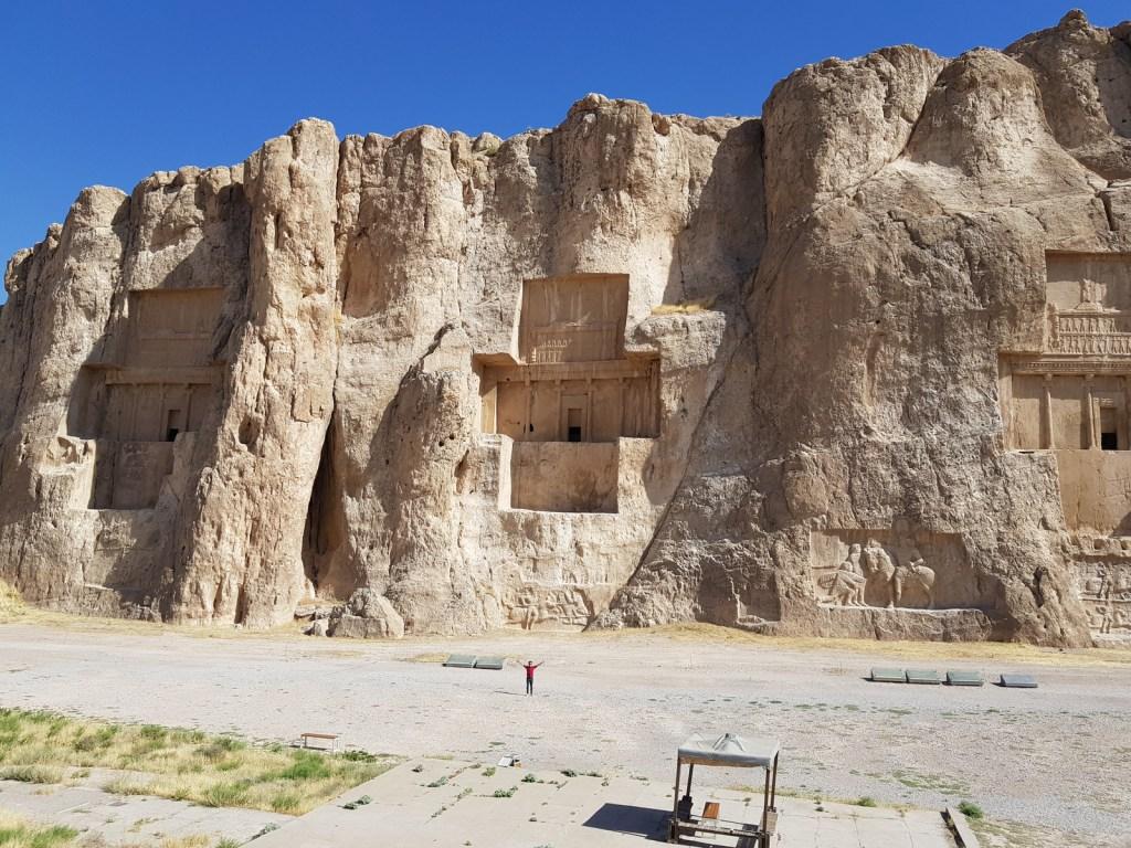 Tomb of Ancient Persian Kings (Darius, Xerxes, Artaxerxes)