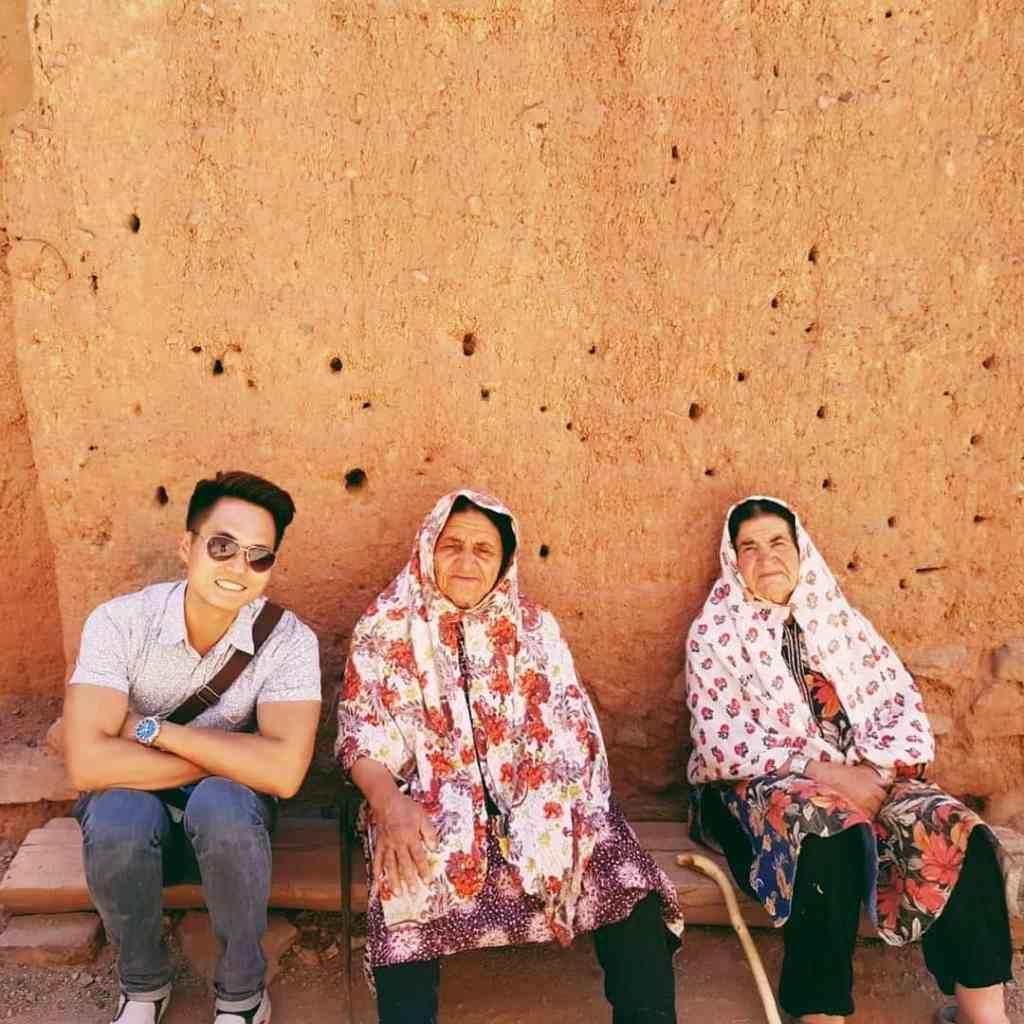 Abyaneh Ladies, Iran
