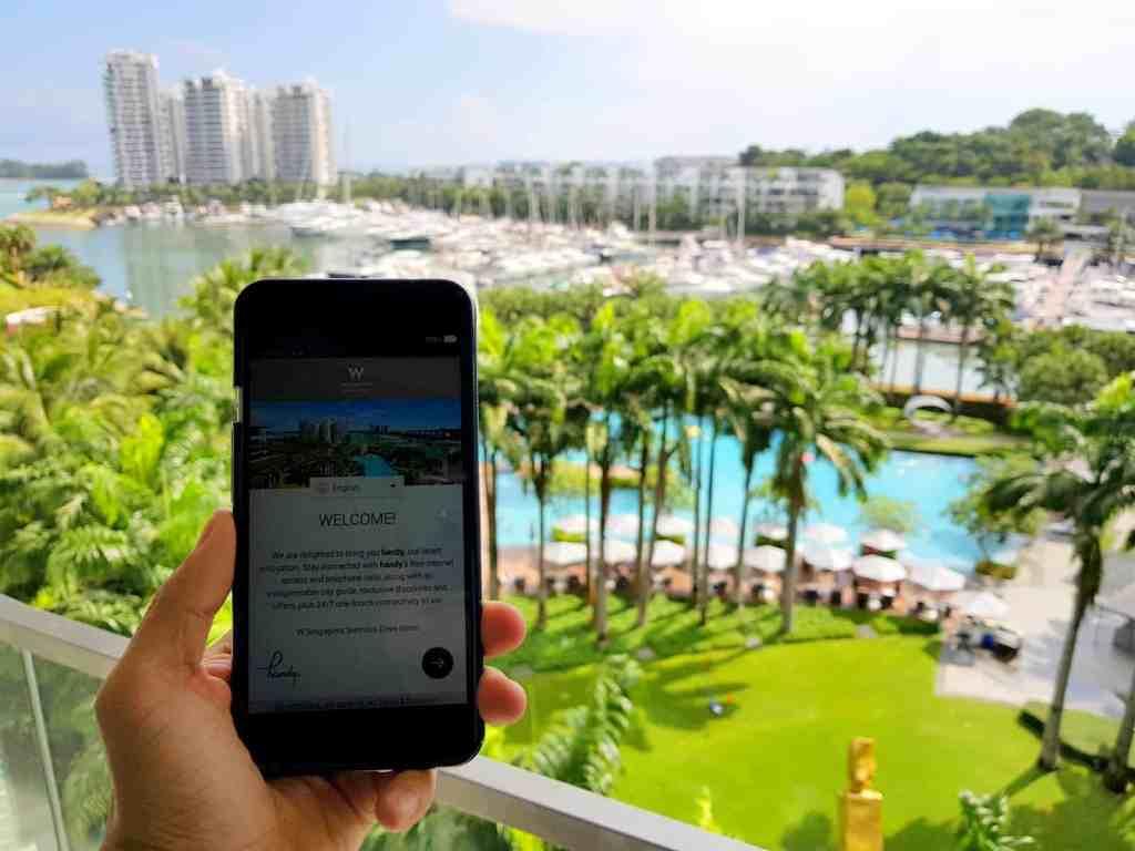 W Singapore Mobile Phone