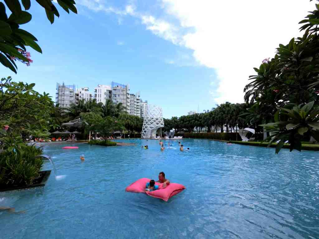 W Singapore Swimming Pool