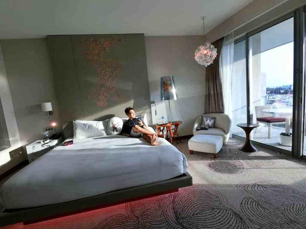 W Singapore Signature Bed