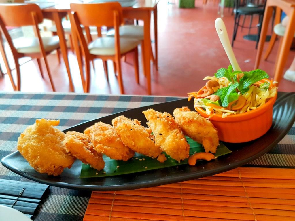 Fried Vegetarian Chicken
