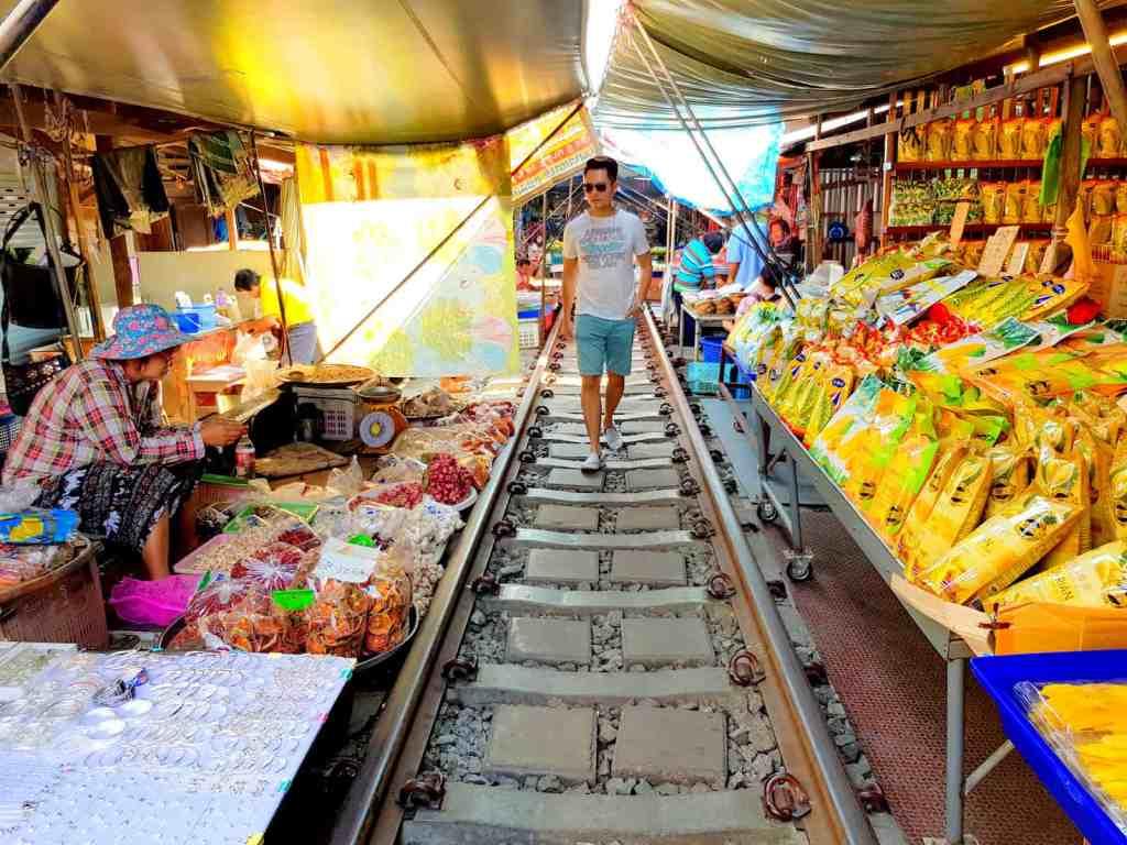 Bangkok Railway Market