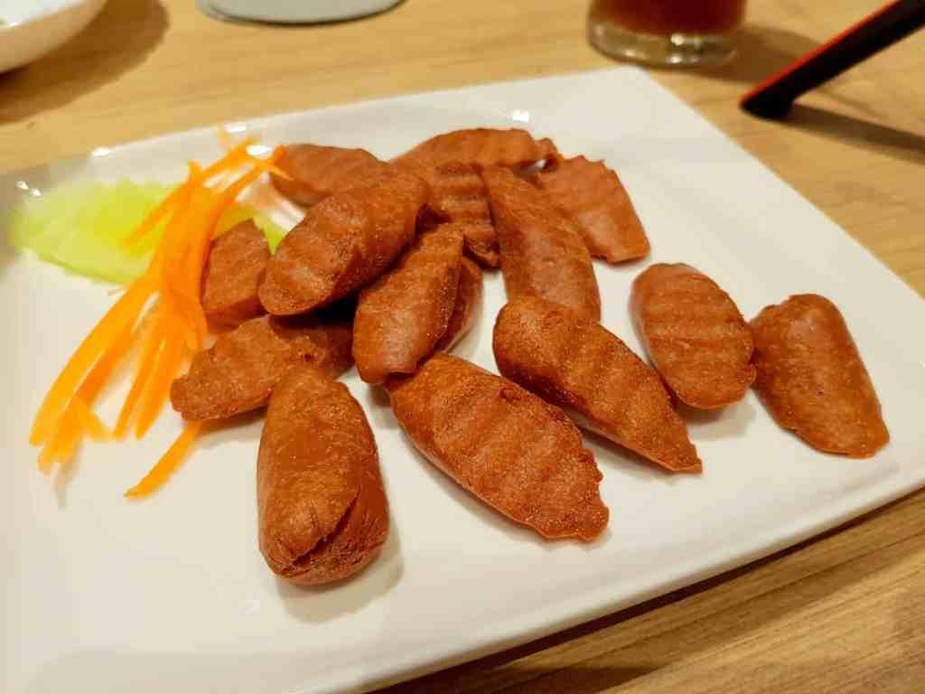 Vegetarian Veggie Sausages