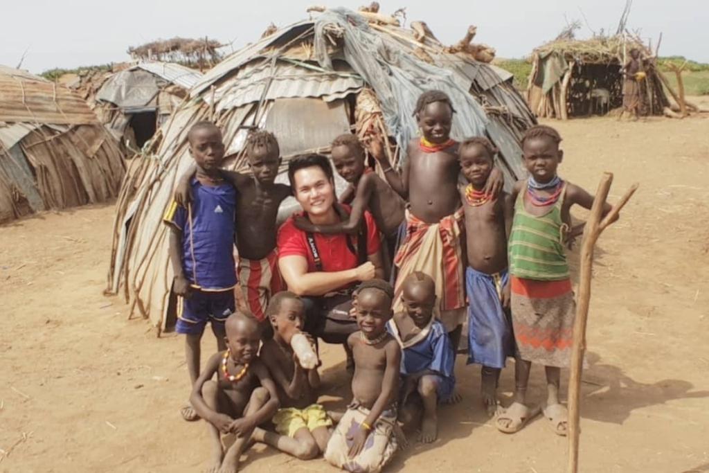 Ethiopia Daasanech Tribe Children