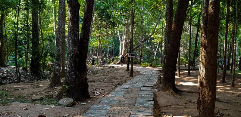 pha charoen waterfall pathway travel is sweet