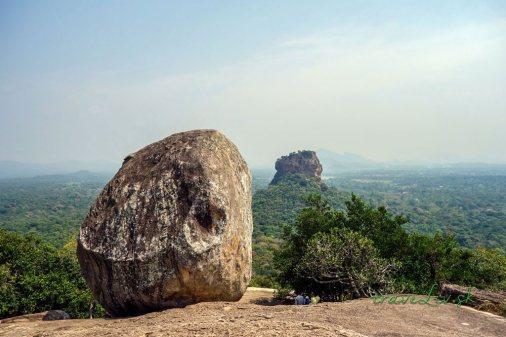 Na vrchole Pidurangala Rock