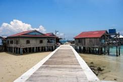 Prístav na Palm beach na ostrove Koh Rong
