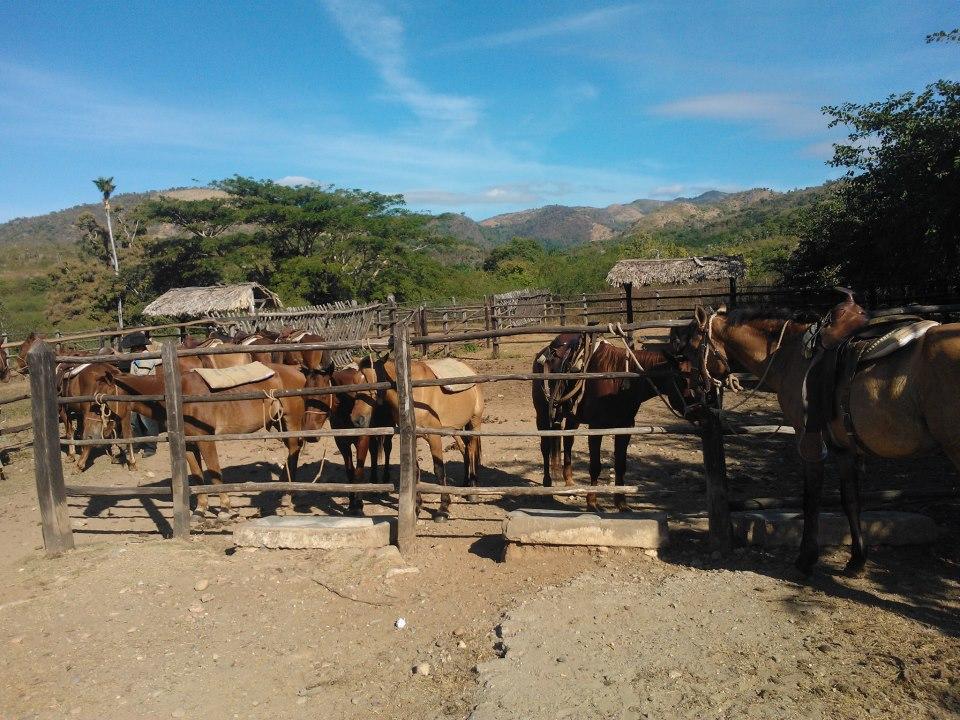 Horseback-riding in Trinidad, Cuba
