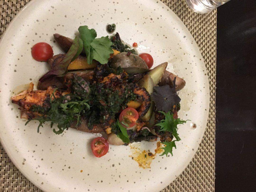 Delicious Peruvian food in Cusco