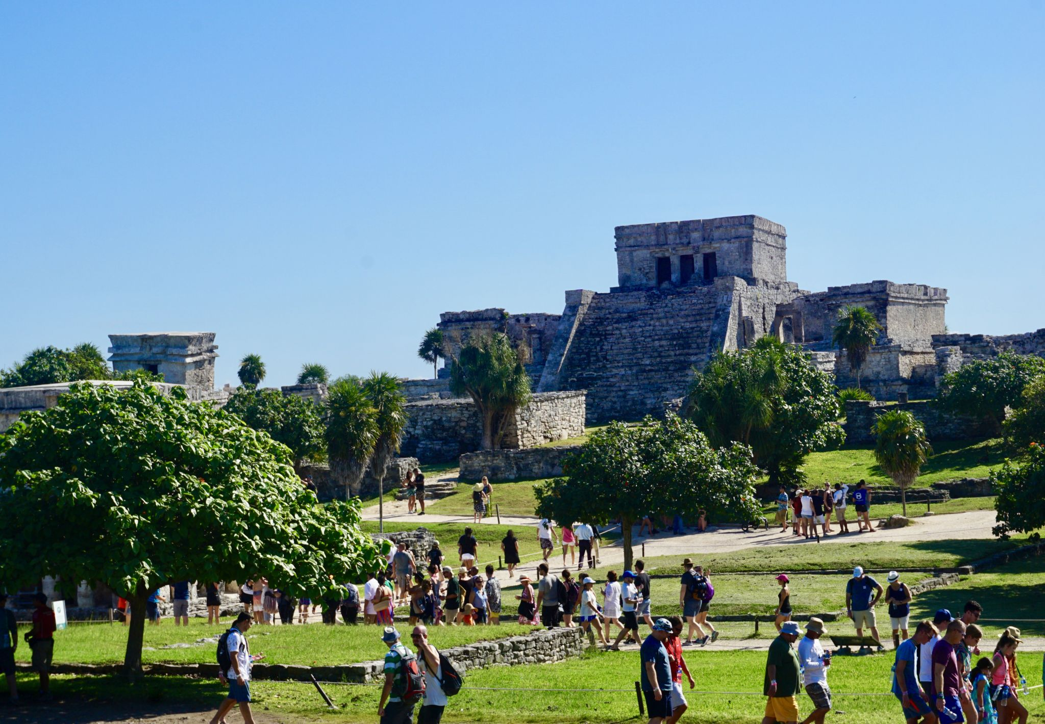 El Castillo in Tulum ruins and how to visit the ancient site