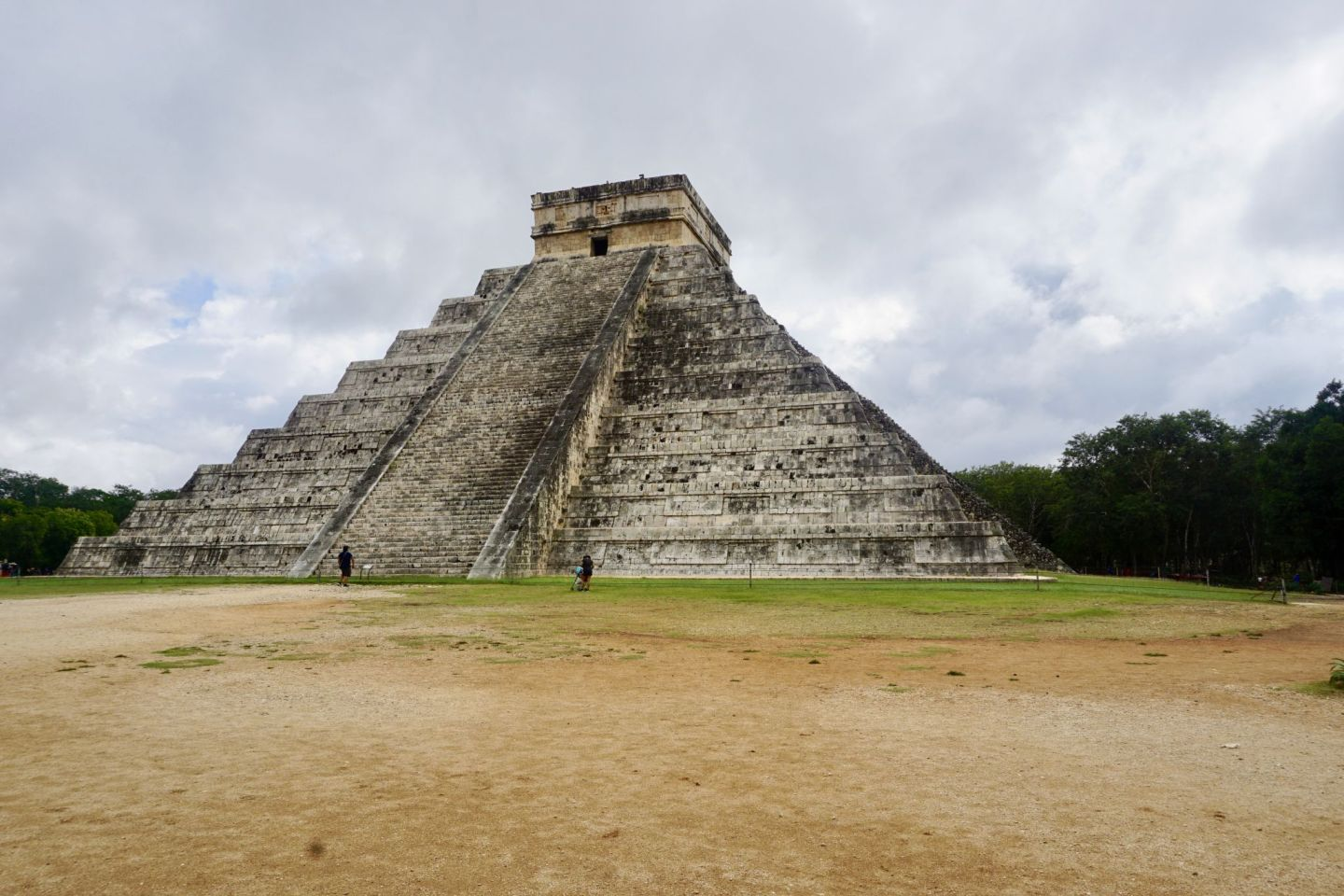 El Castillo in Chichen Itza is one of the spots not to miss