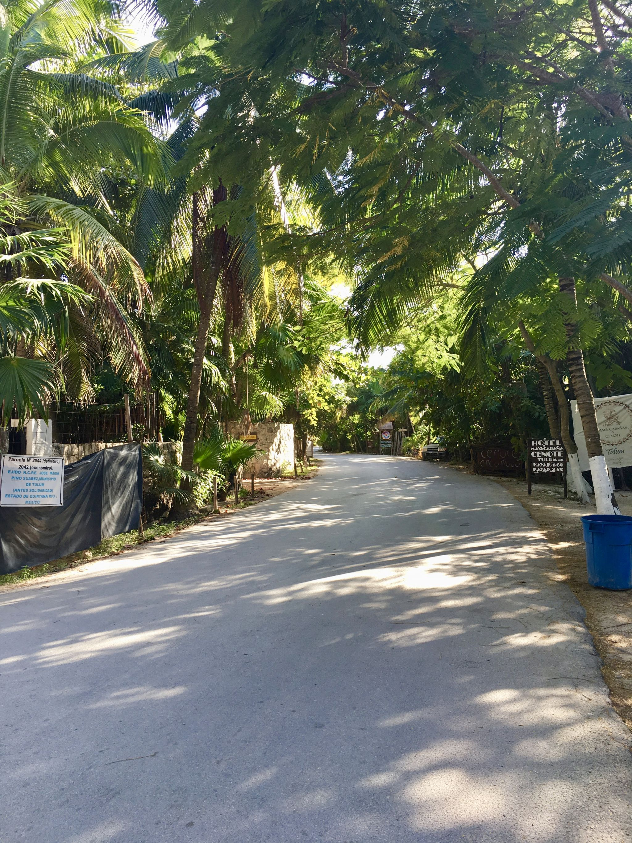 Beach Road Tulum
