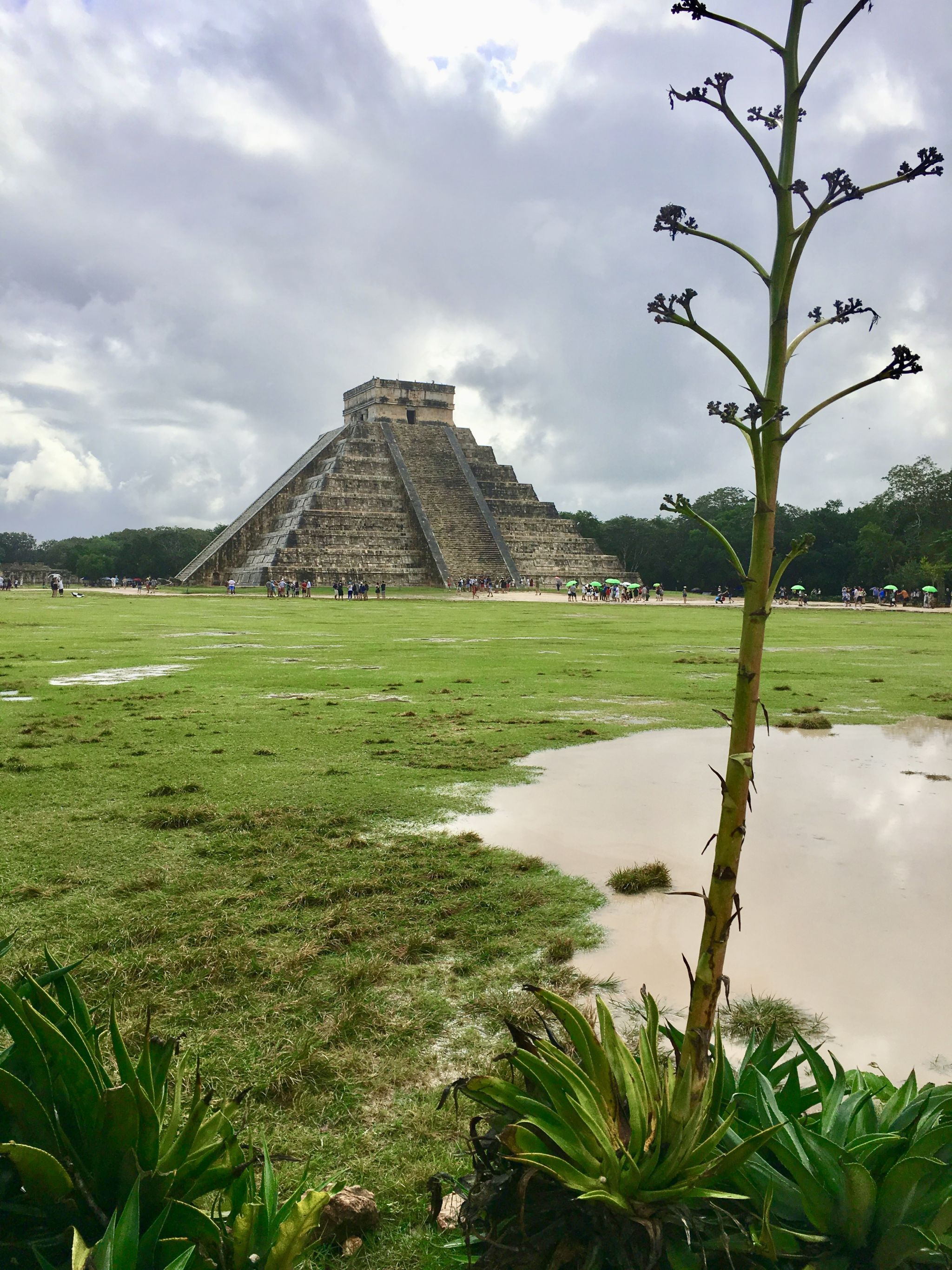 Kukulkan's pyramid in Chichen Itzá