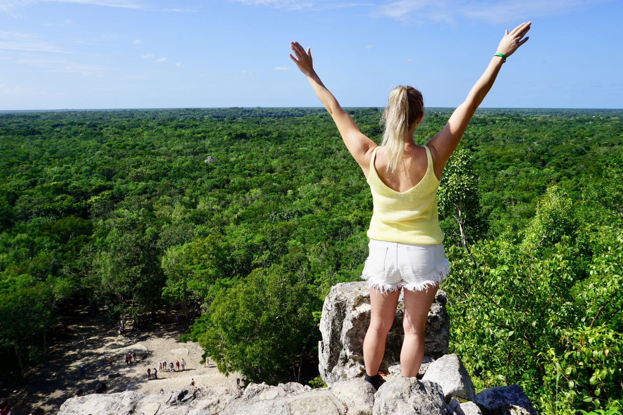 How to get a great picture at Nohoch Mul in Coba
