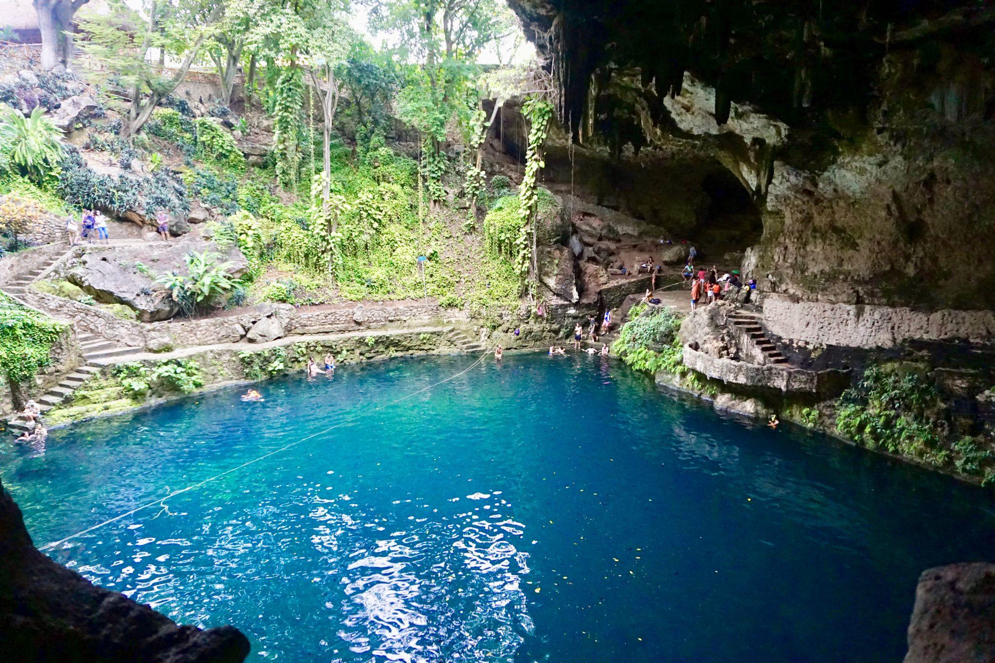 How to visit cenote Zaki in Valladolid