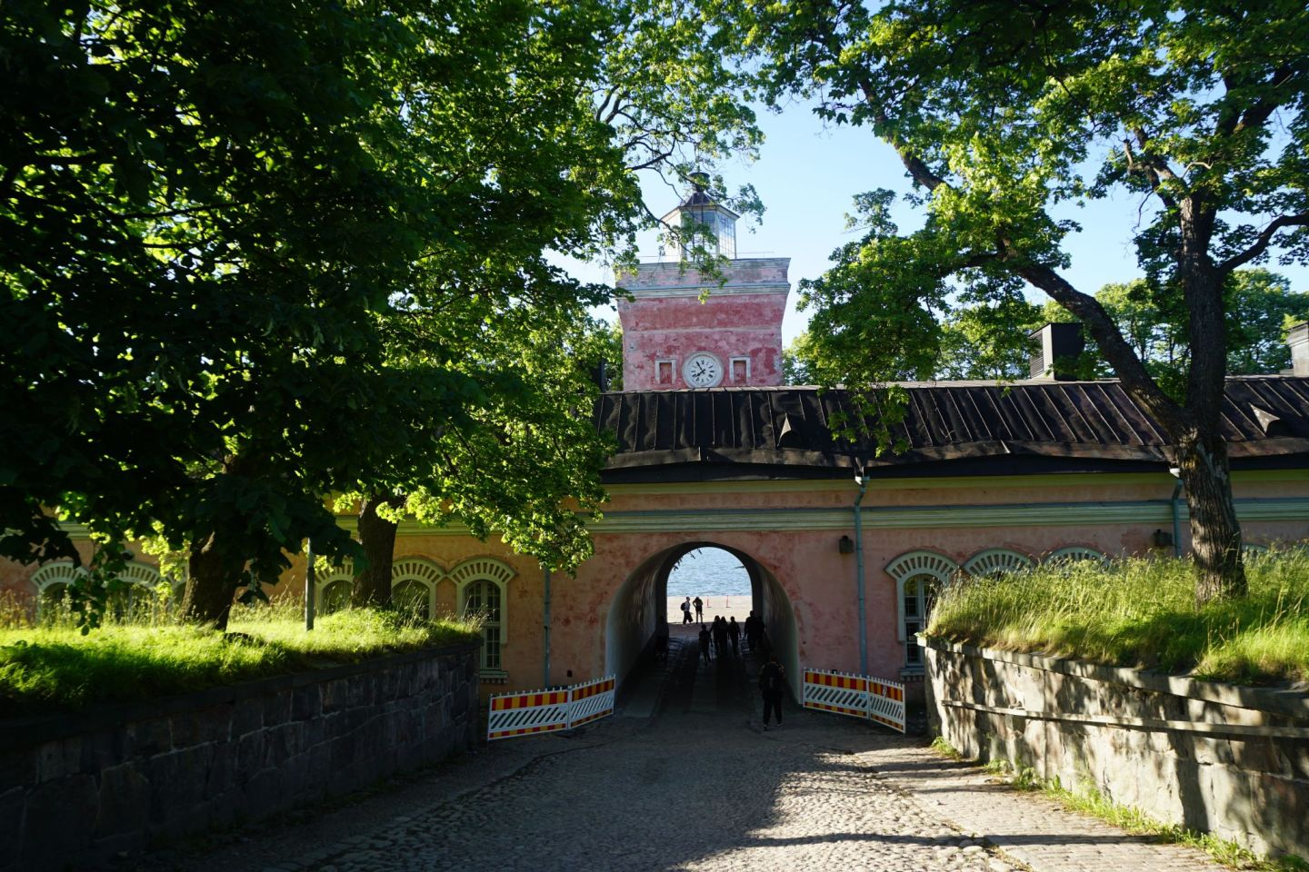 Suomenlinna is home to many beautiful historical buildings