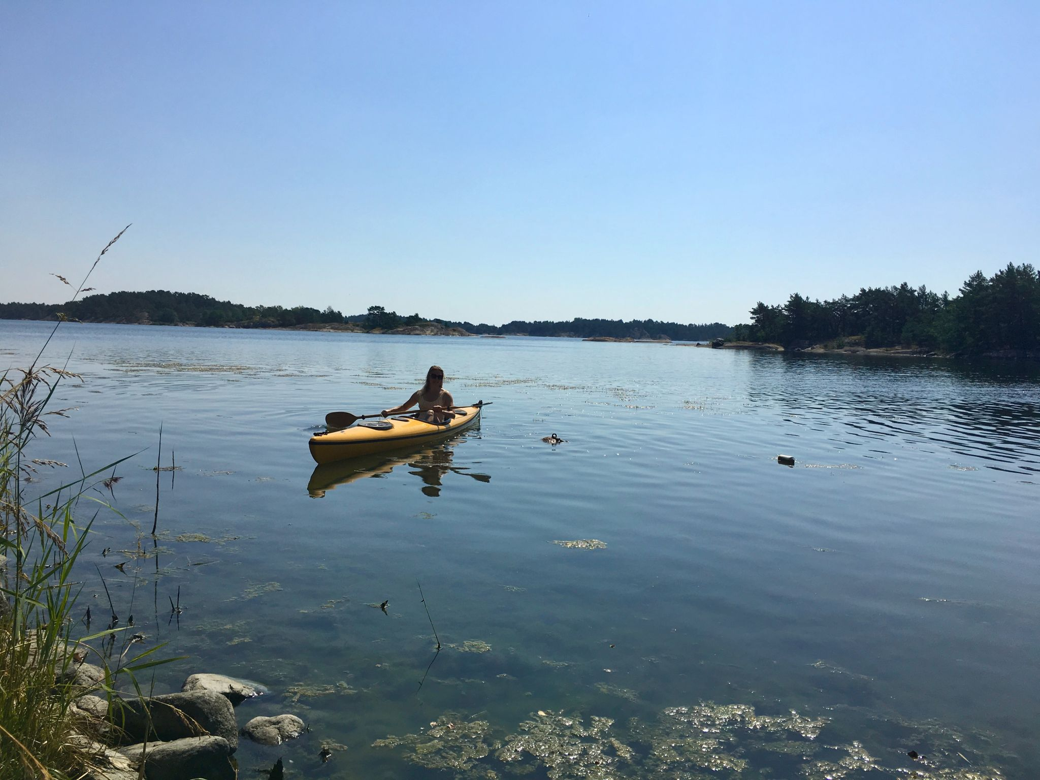 kayaking in the archipelago