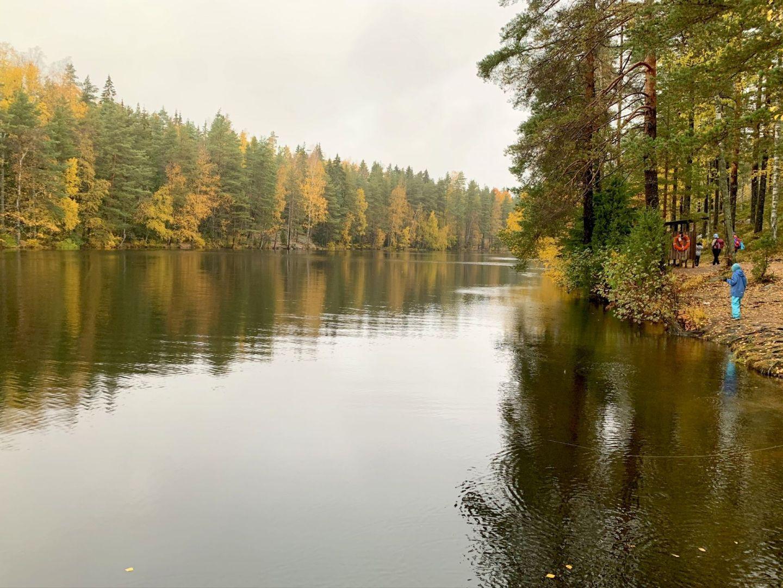 hiking near Helsinki