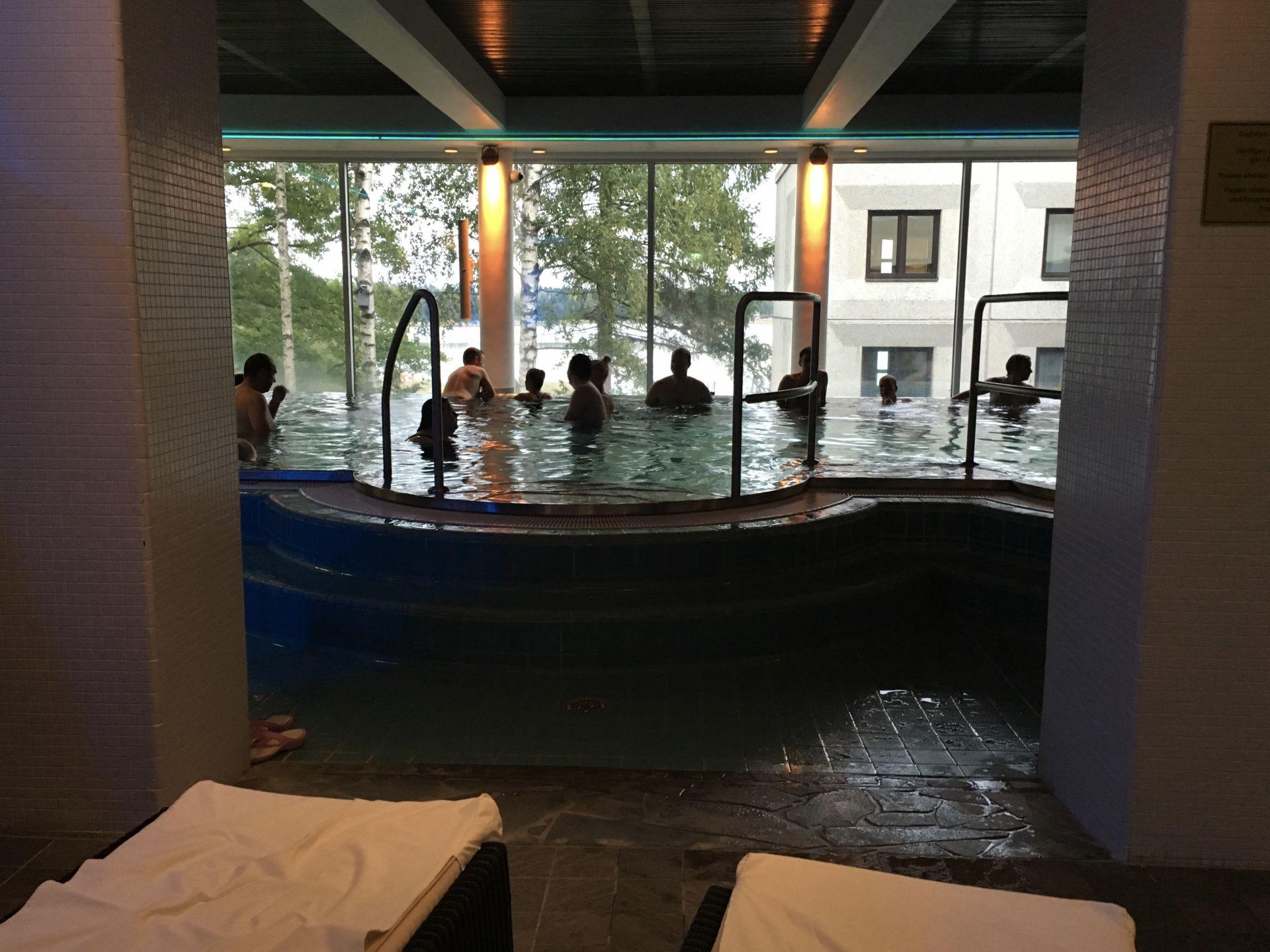 visiting haikko manor spa