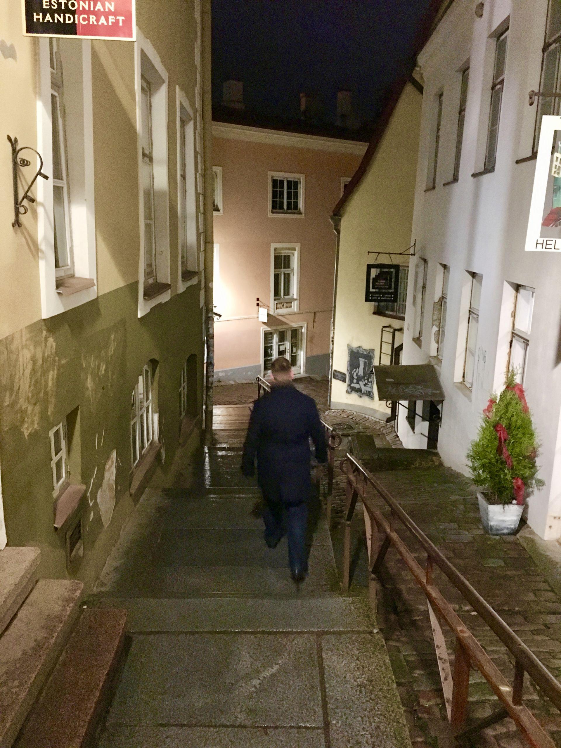 Tiny Alleys in Tallinn Old Town