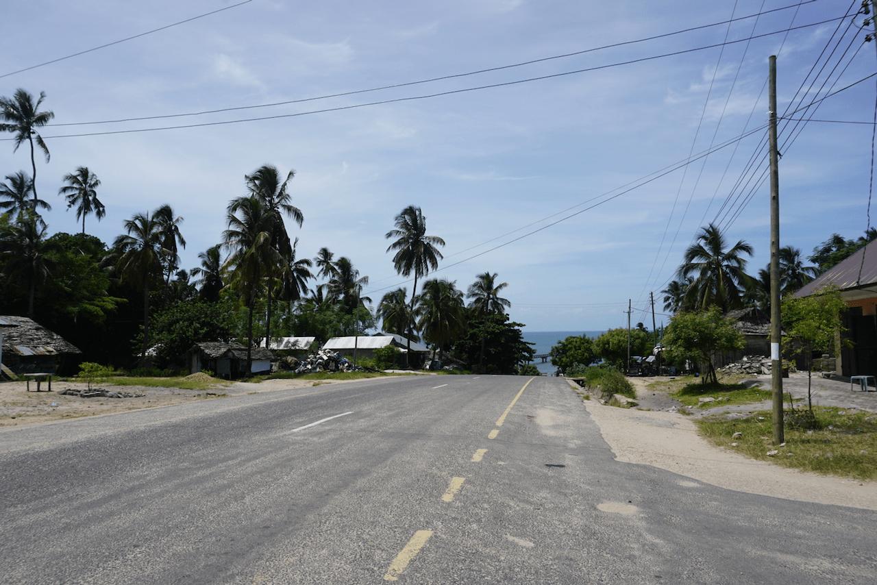 Kilindoni on Mafia Island