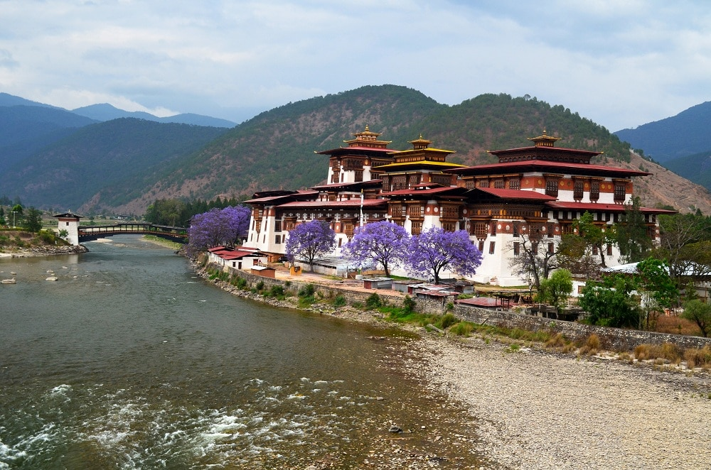 Punakha Dzong by Travel Jaunts