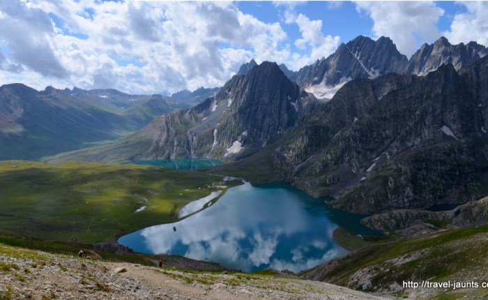 Kishensar and Vishnusar Lakes in Kashmir- Travel Jaunts