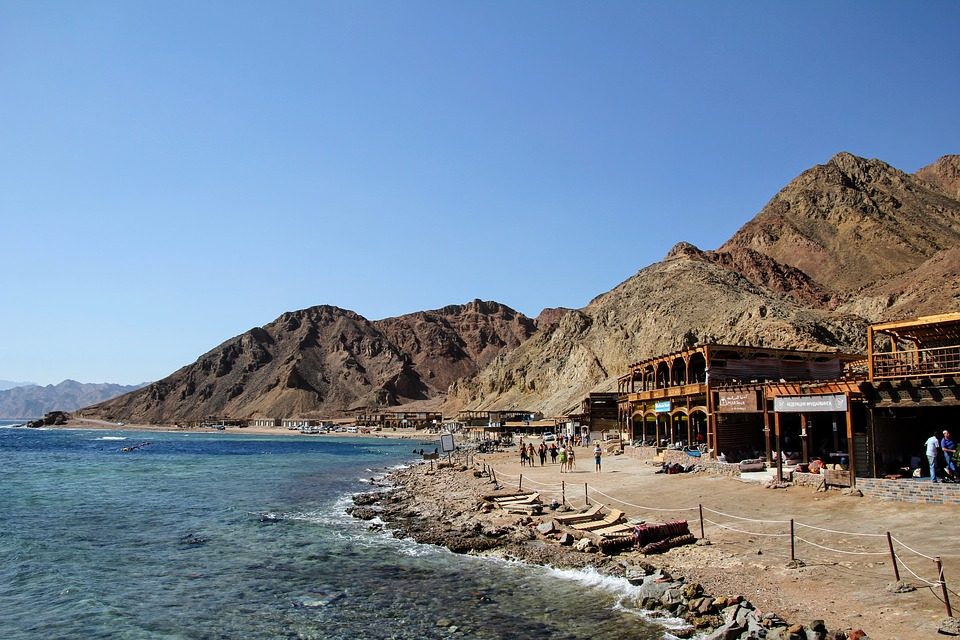Dahab in south Senai Egypt by Travel Jaunts