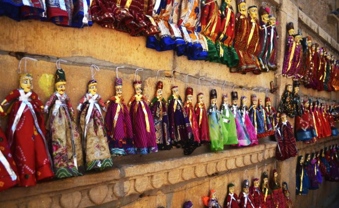 Rajasthani puppets in Jaisalmer by Travel Jaunts