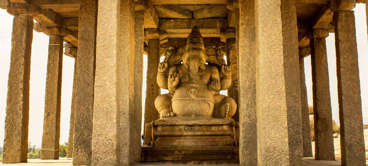 Sasivekalu ganesha by travel jaunts