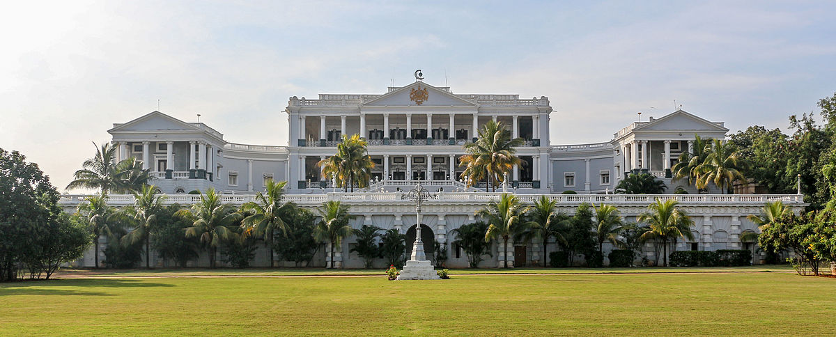 Falaknuma Palace (Courtesy: Wikipedia)
