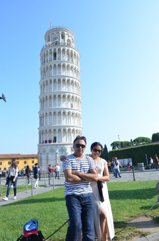 In Pisa, Italy