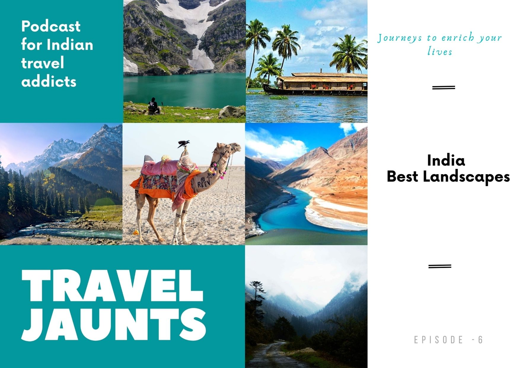 Top India Landscapes Podcast