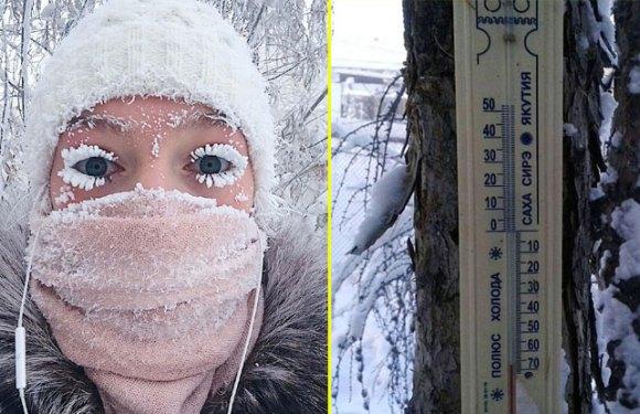 धरती का सबसे ठंडा गांवः जहां कुछ सेकेंड्स में आंखें भी बन जाती हैं बर्फ!