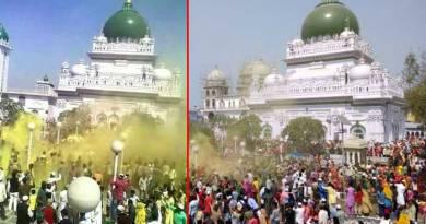 haji waris ali shah dargah holi